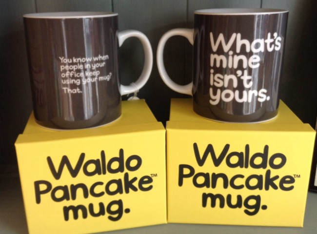 Waldo Pancake Mug - What's mine isn't yours.